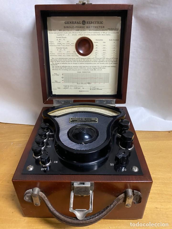 Antigüedades: Voltimetro General Electric 1916 - Foto 2 - 218320608