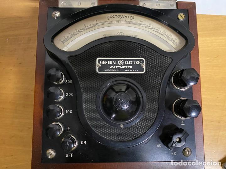 Antigüedades: Voltimetro General Electric 1916 - Foto 4 - 218320608