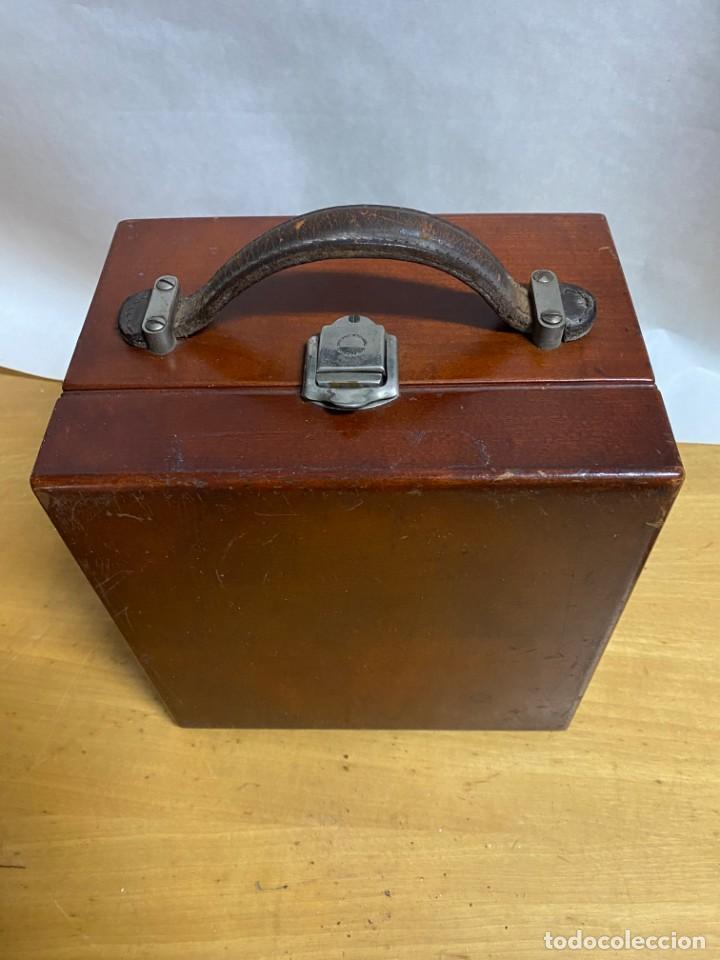 Antigüedades: Voltimetro General Electric 1916 - Foto 5 - 218320608