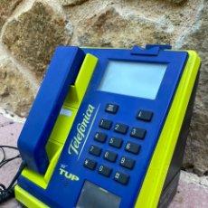 Teléfonos: TELÉFONO DE CABINA CON MONEDAS TELEFONICA. Lote 218339123
