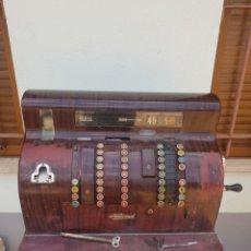 Antigüedades: GRAN MAQUINA REGISTRADORA NATIONAL 1842-X. Lote 218364842