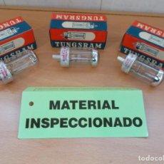 Antigüedades: ENVIO : 5€ LOTE DE 3 LAMPARAS BOMBILLAS PARA PROYECTORES DE CINE G17Q 125V 150W NUEVAS. Lote 218376311