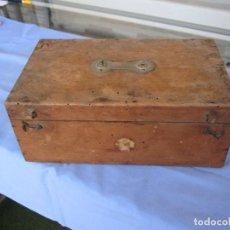 Antigüedades: CENTENARIO IRRIGADOR O LAVATIVA EN ESTUCHE DE MADERA DE ORIGEN FRANCÉS. Lote 218417245
