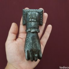 Antigüedades: MANO DE FÁTIMA. LLAMADOR, ALDABA O PICAPORTE.. Lote 218440621