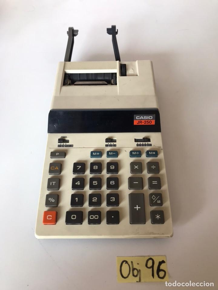 CALCULADORA CASIO MEDELO JR-250 (Antigüedades - Técnicas - Aparatos de Cálculo - Calculadoras Antiguas)