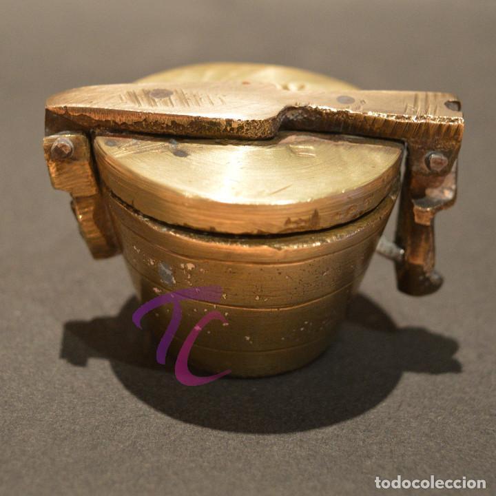 Antigüedades: PEQUEO PONDERAL DE VASOS ANIDADOS - Foto 2 - 218511922