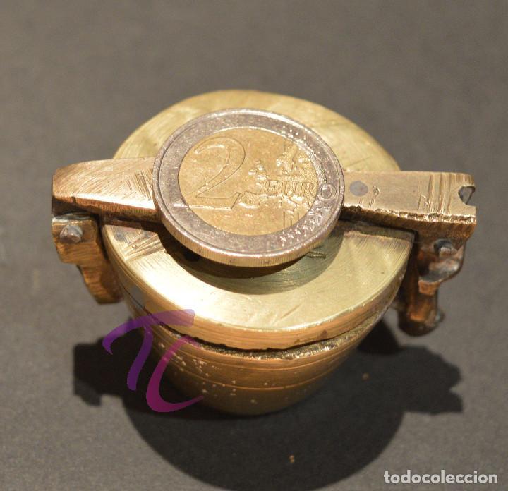 Antigüedades: PEQUEO PONDERAL DE VASOS ANIDADOS - Foto 13 - 218511922
