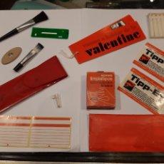 Antigüedades: VALENTINE OLIVETTI INSTRUCCIONES Y COMPLEMENTOS VARIOS... (G). Lote 218537855