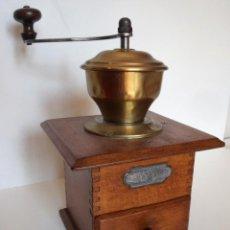 Antigüedades: MOLINILLO DE CAFÉ MARCA P.D. ALEMANIA. CA 1880/1900. Lote 218550562