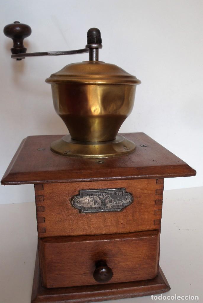 Antigüedades: MOLINILLO DE CAFÉ MARCA P.D. ALEMANIA. CA 1880/1900 - Foto 5 - 218550562