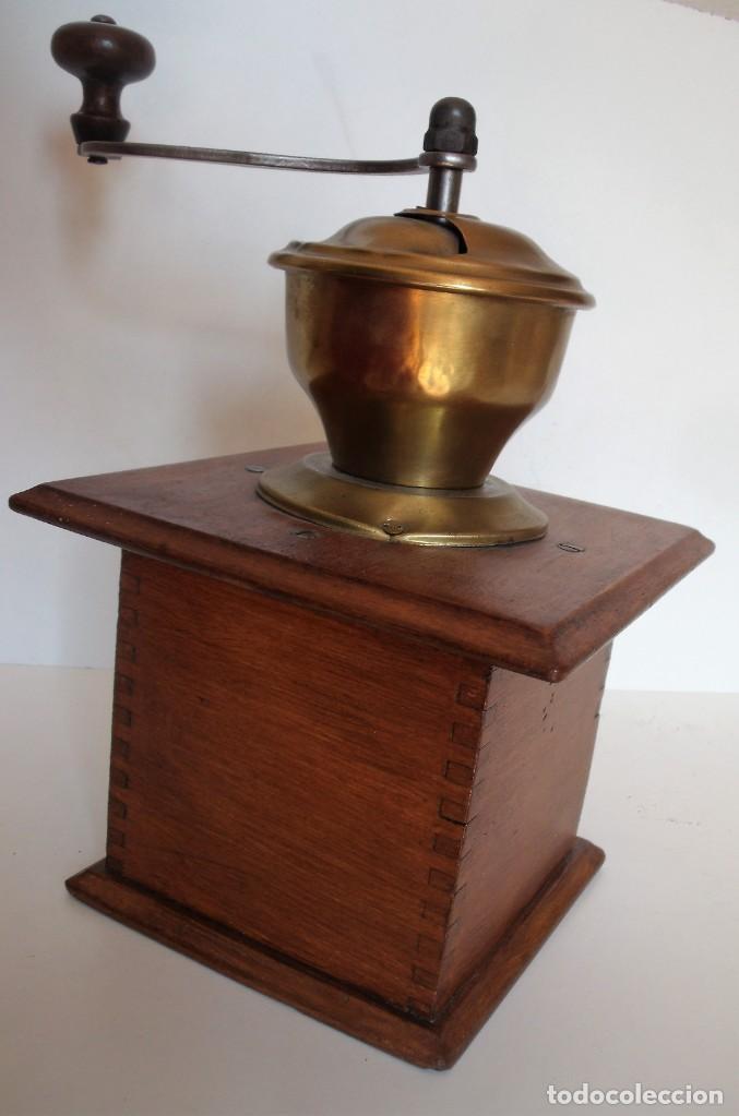 Antigüedades: MOLINILLO DE CAFÉ MARCA P.D. ALEMANIA. CA 1880/1900 - Foto 7 - 218550562