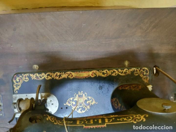 Antigüedades: MÁQUINA DE COSER ALFA SIGLO XX, 6000-293 - Foto 18 - 45732104