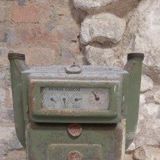 Antigüedades: ANTIGUO CONTADOR DE GAS. Lote 218775146