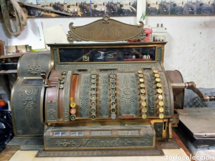 Antigüedades: REGISTRADORA NATIONAL DE 1909 - Foto 2 - 218795798