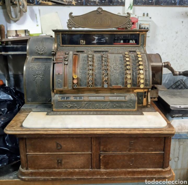 REGISTRADORA NATIONAL DE 1909 (Antigüedades - Técnicas - Aparatos de Cálculo - Cajas Registradoras Antiguas)
