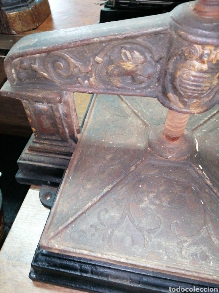 Antigüedades: Prensa de imprenta - Foto 3 - 218808765