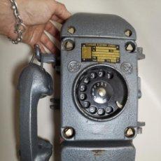 Teléfonos: TELEFONO DE BARCO SUBMARINO ESTANCO STANDARD ELEKTRIK LORENZ ALEMANIA 1965..FUNCIONANDO ...18 KILOS. Lote 218817107