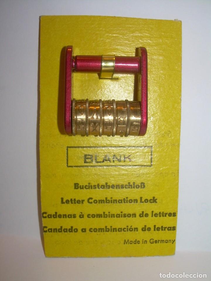 Antigüedades: CANDADO CE COMBINACION DISPONEMOS DE LA COMBINACION ..5 RODILLOS...NUEVO DE FONDO DE TIENDA. - Foto 6 - 218884477