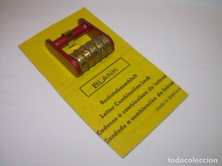Antigüedades: CANDADO CE COMBINACION DISPONEMOS DE LA COMBINACION ..5 RODILLOS...NUEVO DE FONDO DE TIENDA. - Foto 16 - 218884477