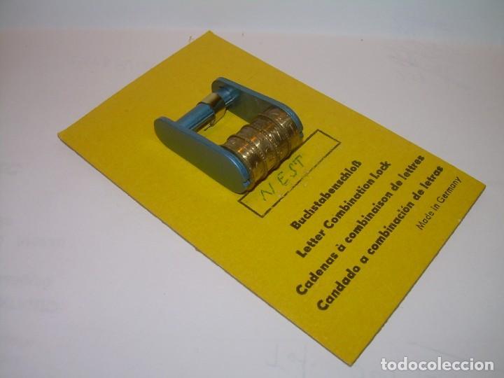 Antigüedades: CANDADO CE COMBINACION DISPONEMOS DE LA COMBINACION ..4 RODILLOS...NUEVO DE FONDO DE TIENDA. - Foto 6 - 228455390
