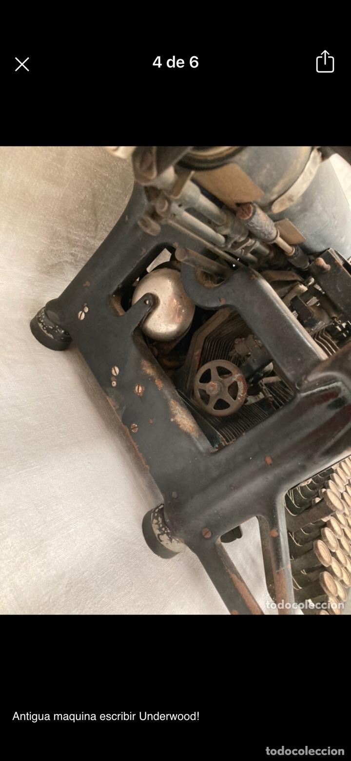 Antigüedades: Preciosa maquina escribir underwood - Foto 3 - 218898545