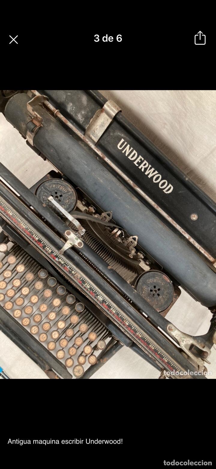 Antigüedades: Preciosa maquina escribir underwood - Foto 4 - 218898545
