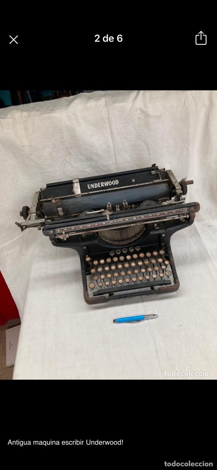 Antigüedades: Preciosa maquina escribir underwood - Foto 5 - 218898545