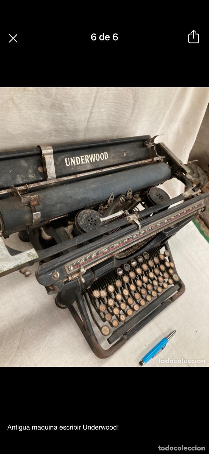 PRECIOSA MAQUINA ESCRIBIR UNDERWOOD (Antigüedades - Técnicas - Máquinas de Escribir Antiguas - Underwood)