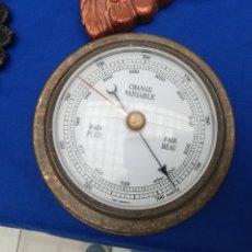 Antigüedades: ANTIGUO BARÓMETRO DE BARCO. Lote 218903480