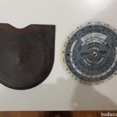 Antigüedades: REGLA DE CÁLCULO CIRCULAR JEPPESEN MODEL CR-3 COMPUTER CON SU FUNDA.. Lote 218940303