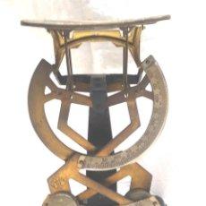 Antigüedades: BALANZA PRECISIÓN PARA CARTAS MARCA MYC AÑOS 50, COMPLETA.. Lote 218949892