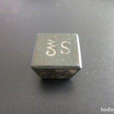 Antigüedades: PONDERAL DE FARMACIA DE 4 DRACMAS. Lote 218973631