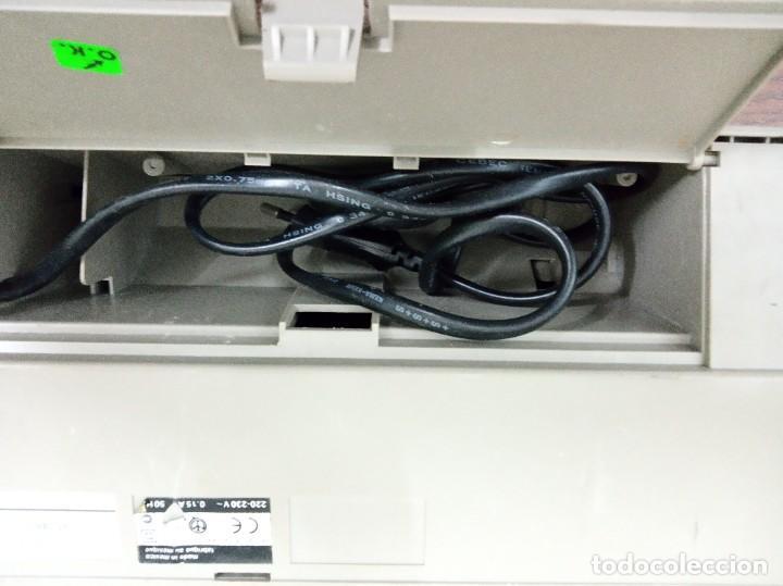 Antigüedades: Máquina de escribir Olivetti Lettera E501-II - Foto 5 - 219001892