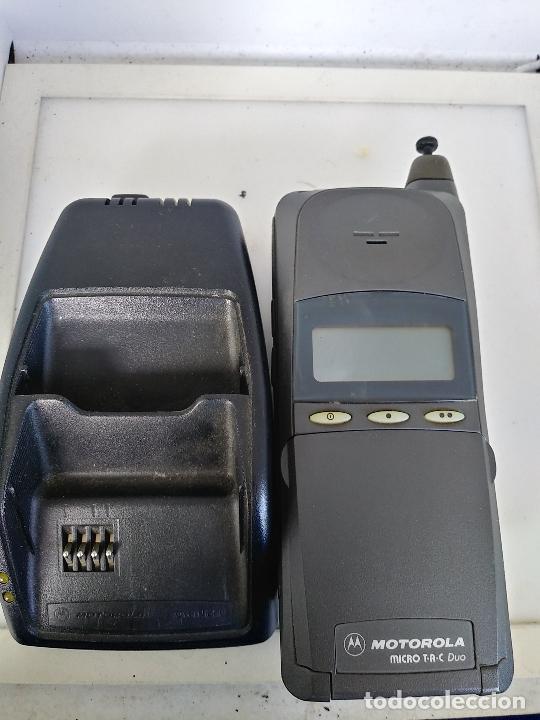 Teléfonos: Telefono Motorola MicroTAC dúo con cargador - Foto 3 - 219014220