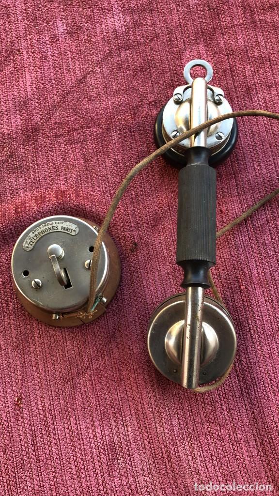TELEFONO ANTIGUO DE COLECCION (Antigüedades - Técnicas - Teléfonos Antiguos)