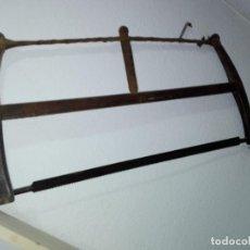 Antigüedades: ANTIGUA SIERRA-SERRUCHO DE CARPINTERO EBANISTA. Lote 219177018