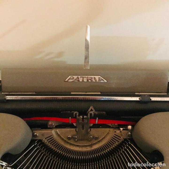Antigüedades: Maquina de Escribir PATRIA Años 50 (Una Joya) - Foto 5 - 219272303