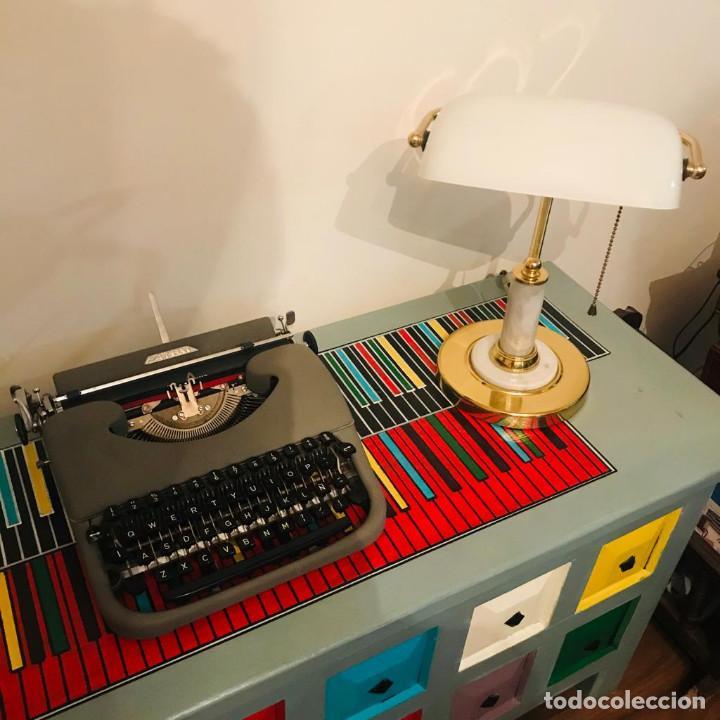 Antigüedades: Maquina de Escribir PATRIA Años 50 (Una Joya) - Foto 3 - 219272303