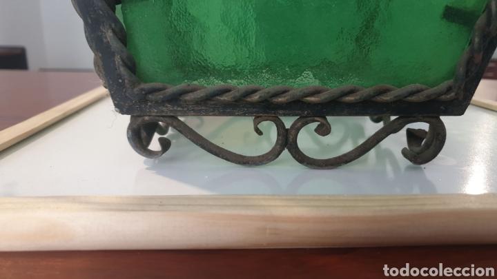 Antigüedades: Antiguo Farol de Forja - Foto 4 - 219275230