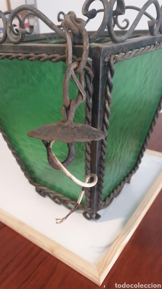 Antigüedades: Antiguo Farol de Forja - Foto 5 - 219275230