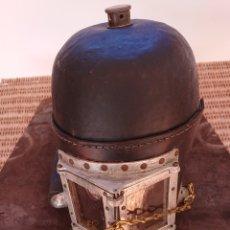 Antigüedades: CASCO DE HUMO PARA BOMBEROS, NO SIEBE GORMAN, ESCAFANDRA ESPAÑOLA.. Lote 219276670