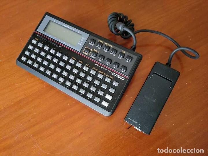 Antigüedades: CASIO DIGITAL WRITER HW-1 - HANDY WRITER ELECTRONIC LETTERING SYSTEM - Foto 13 - 219425947