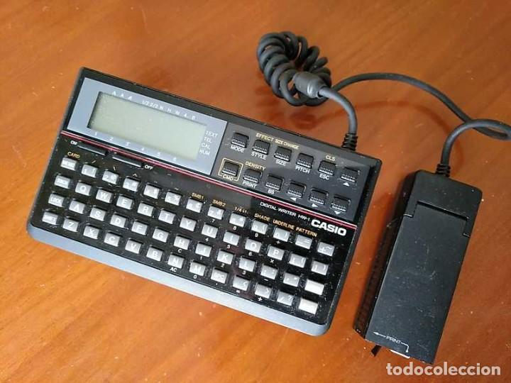 Antigüedades: CASIO DIGITAL WRITER HW-1 - HANDY WRITER ELECTRONIC LETTERING SYSTEM - Foto 14 - 219425947