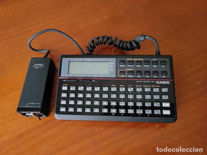 Antigüedades: CASIO DIGITAL WRITER HW-1 - HANDY WRITER ELECTRONIC LETTERING SYSTEM - Foto 29 - 219425947