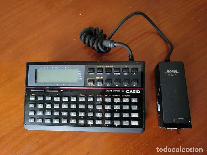 Antigüedades: CASIO DIGITAL WRITER HW-1 - HANDY WRITER ELECTRONIC LETTERING SYSTEM - Foto 32 - 219425947