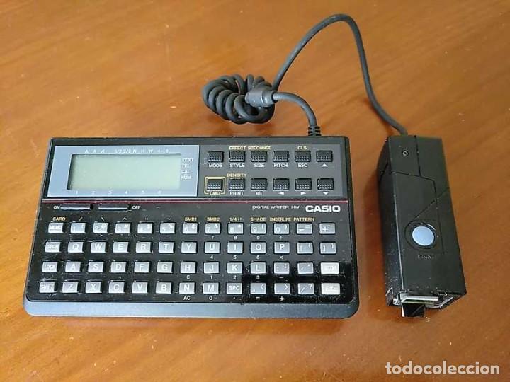 Antigüedades: CASIO DIGITAL WRITER HW-1 - HANDY WRITER ELECTRONIC LETTERING SYSTEM - Foto 36 - 219425947