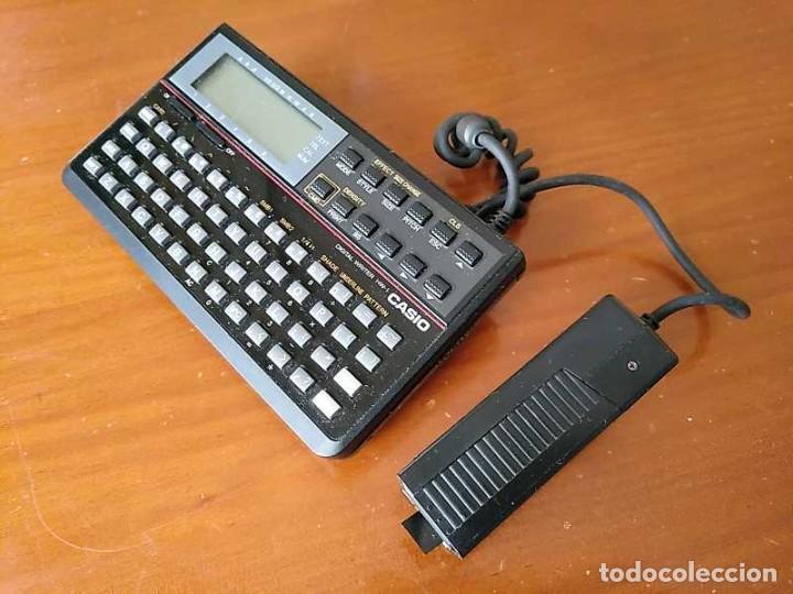 Antigüedades: CASIO DIGITAL WRITER HW-1 - HANDY WRITER ELECTRONIC LETTERING SYSTEM - Foto 38 - 219425947