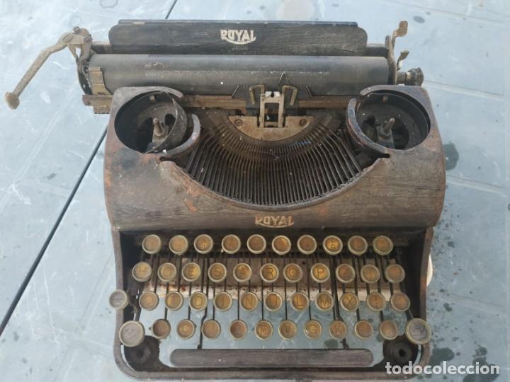 MAQUINA DE ESCRIBIR ROYAL TYPEWRITER (Antigüedades - Técnicas - Máquinas de Escribir Antiguas - Royal)