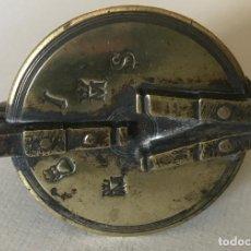 Antigüedades: PONDERAL DE VASOS ANIDADOS. INCOMPLETO. FINALES DEL SIGLO XVIII. INTERESANTES MARCAS. Lote 219439771