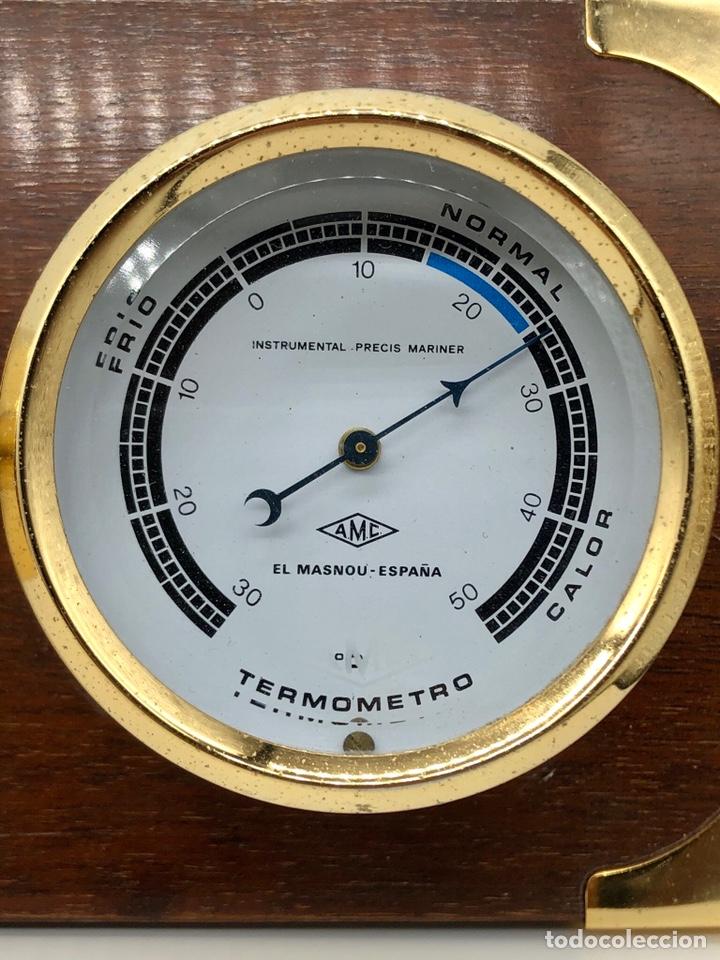 Antigüedades: Auténtica estación meteorológica barco náutica INSTRUMENTAL PRECIS MARINER - Foto 5 - 219446213